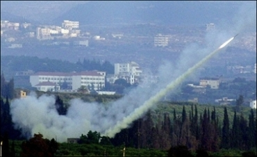 Hizbollah fire a Missile in retaliation to Israeli aggression