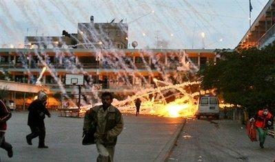 civilians under attack
