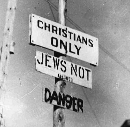 Jews Not Allowed