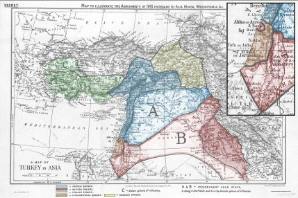 The Secret agreement to partition the Ottoman Empire