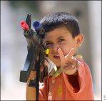 Palestinian boy in Jenin