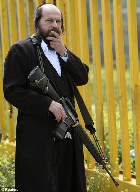 An Armed Rabbi killing in the name of Judaism