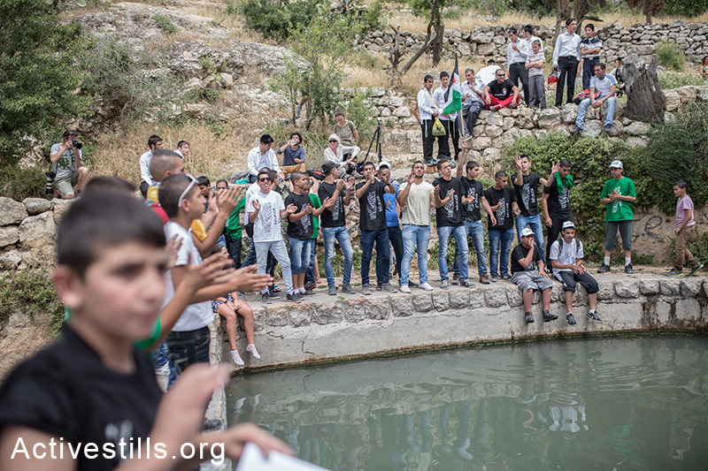 Palestinians event in the village of Lifta following Nakba Day 1